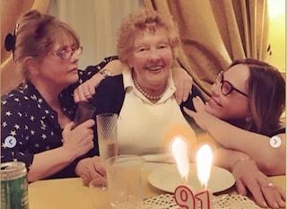 Morta la mamma di Ornella Muti, la signora Ilse aveva 91 anni