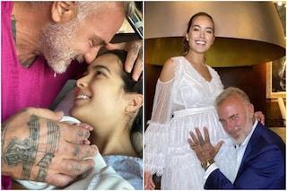 È nata la figlia di Gianluca Vacchi e Sharon Fonseca, si chiama Blu Jerusalema