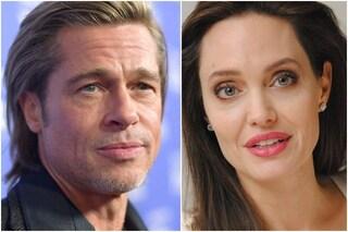 Brad Pitt e Angelina Jolie in tribunale, l'attore vuole la custodia congiunta dei sei figli