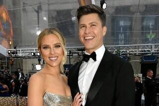 Terzo matrimonio per Scarlett Johansson, l'attrice ha sposato Colin Jost