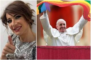 """Vladimir Luxuria su Papa Francesco e le unioni civili: """"Uomo capace di fare rivoluzioni umane"""""""