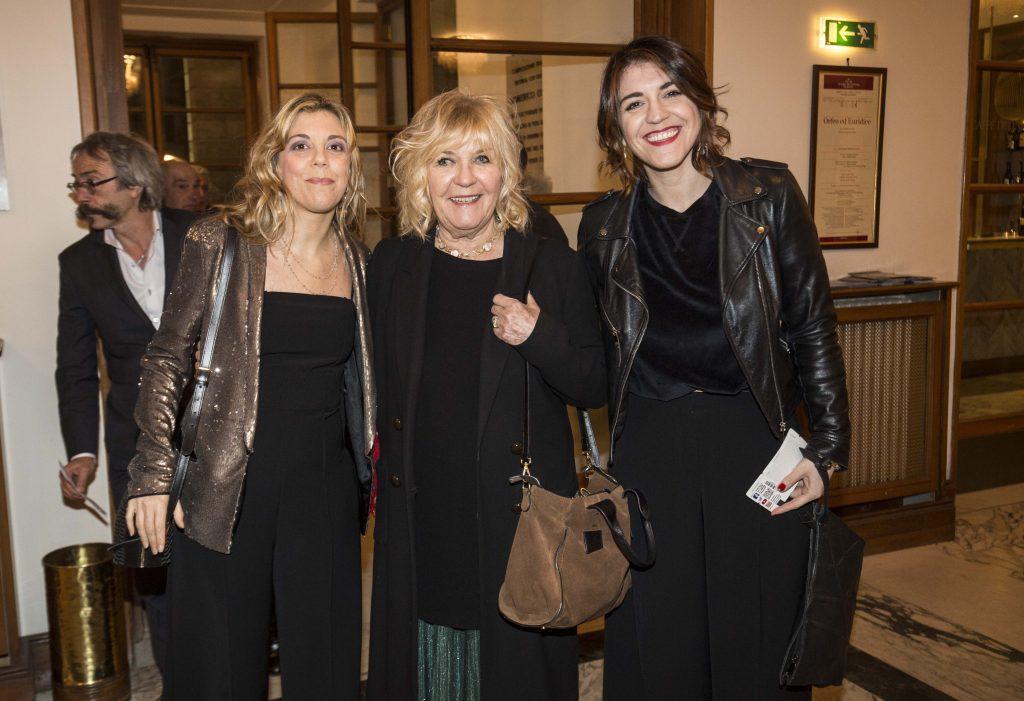 Susanna Proietti, Sagitta Alter e Carlotta Proietti