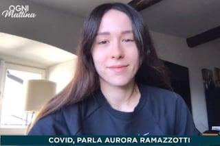 Aurora Ramazzotti è positiva al Coronavirus, in isolamento insieme al fidanzato Goffredo