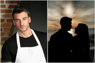 Lo chef Damiano Carrara è fidanzato, la prima foto con una donna misteriosa