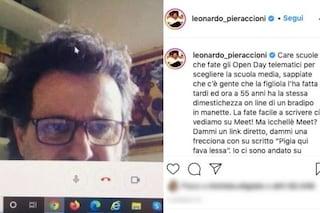 """Leonardo Pieraccioni e la didattica online: """"Ho la dimestichezza di un bradipo in manette"""""""