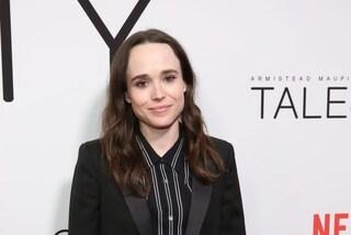 """Ellen Page, Vanya di The Umbrella Academy, rivela di essere transessuale: """"Ora mi chiamo Elliot"""""""