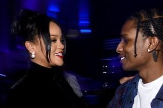 """Rihanna e A$AP Rocky fidanzati: """"L'amicizia è diventata amore"""""""