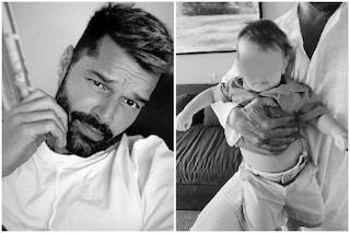 Ricky Martin mostra una nuova foto del piccolo Renn, il suo quarto figlio