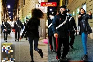 Belén Rodriguez, infastidita dai paparazzi, corre a chiamare i carabinieri