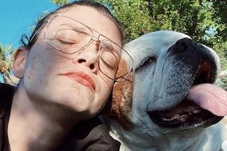 """Lutto per Emma Marrone, è morto il cane Gaetano: """"Quando tornerò a casa non ci sarai"""""""