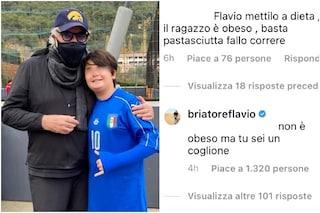 """Insulta Nathan Falco sui social, Flavio Briatore lo mette a tacere: """"Cog*ione"""""""