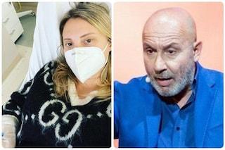 """Alessandra Moretti, moglie di Maurizio Battista: """"Abbiamo tutti il Covid, anche mia figlia Anna"""""""