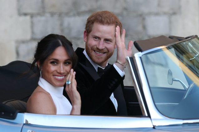 Harry e Maghen (foto Steve Parsons – WPA Pool/Getty Images)