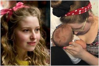 Il dramma di Jessie Cave di Harry Potter: il figlio di due mesi è in ospedale per Covid