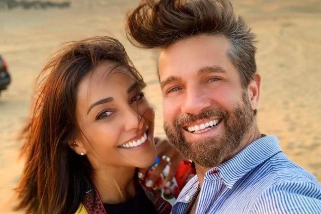 Juliana Moreira e Edoardo Stoppa