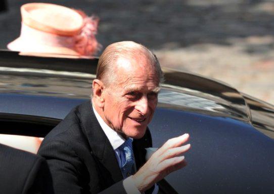 Il Duca di Edinburgo in una foto del 2011