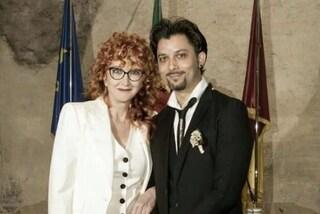 Fiorella Mannoia e Carlo Di Francesco si sono sposati, la foto del matrimonio