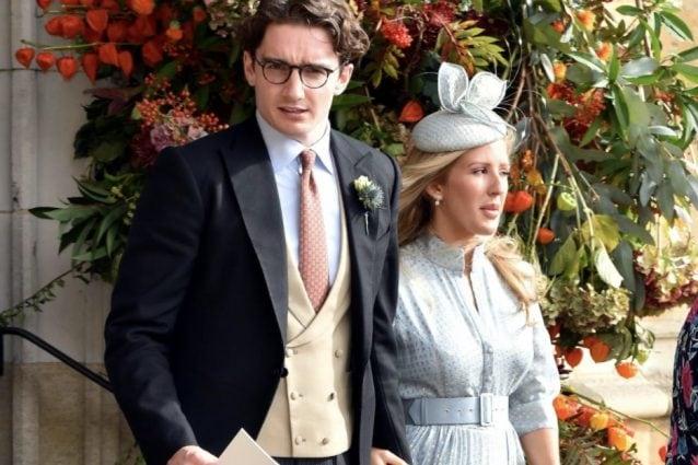 Con il marito Caspar Jopling
