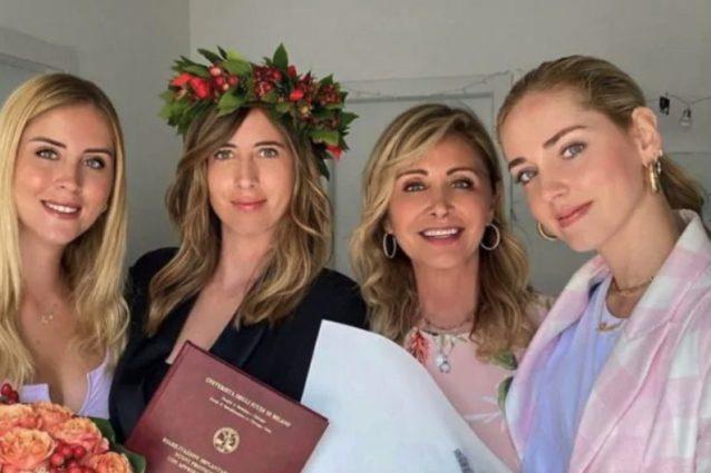 Le sorelle Ferragni con mamma Marina Di Guardo