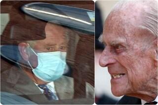 Il principe Carlo in ospedale da suo padre Filippo, visita eccezionale che desta preoccupazione