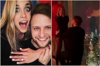 """L'ex velina Ludovica Frasca sposa Frank Faricy, la proposta di matrimonio: """"Ho detto sì"""""""