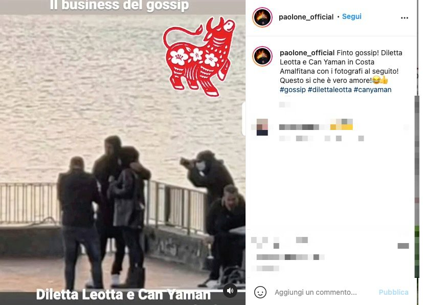 Il post di paolone_official, fotoreporter di gossip