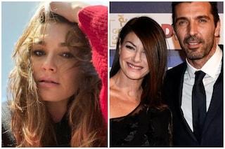 Attacco all'ex Gianluigi Buffon e Ilaria D'Amico, l'ironia di Alena Seredova