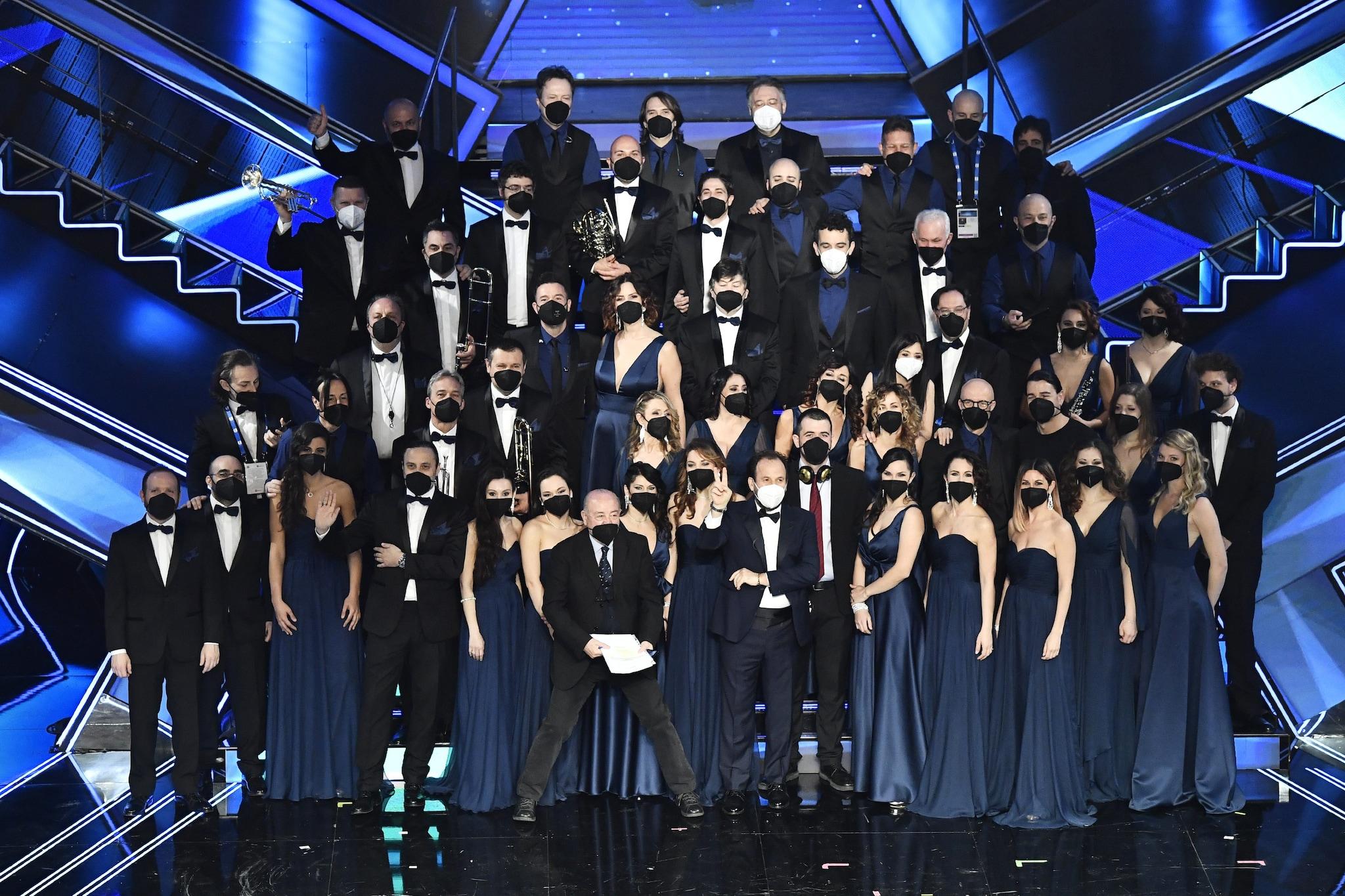 L'orchestra del Festival di Sanremo 2021