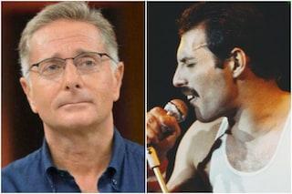 """Paolo Bonolis: """"Freddie Mercury mi fece capire che voleva trascorrere del tempo con me"""""""
