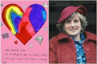 """I figli di William e Kate Middleton scrivono una lettera a Lady Diana: """"Cara nonna"""""""