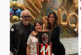 Elisabetta Gregoraci e Flavio Briatore si ritrovano per il compleanno di Nathan