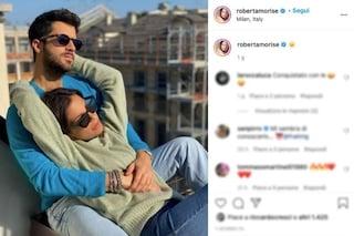 Roberta Morise innamorata di Giulio Fratini, l'ex fidanzato di Raffaella Fico