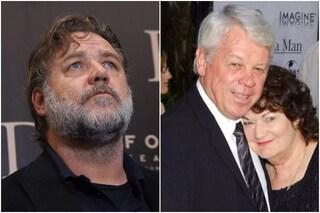 """Morto il padre di Russell Crowe: """"Uno splendido papà, il più gentile tra gli uomini"""""""