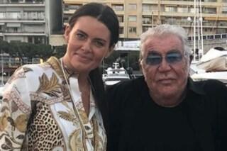 """Roberto Cavalli e Sandra Nilsson, la coppia ha 45 anni di differenza: """"Mi proteggi da ogni virus"""""""