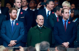 William e Harry separati ai funerali del principe Filippo: l'ordine viene dalla Regina