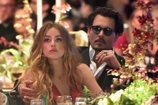 Johnny Depp accusato di avere picchiato Amber Heard, un video potrebbe scagionarlo