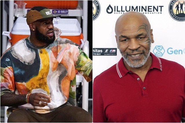 LeBron James e Mike Tyson