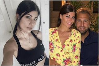 Chi è Cristina Garofalo, la modella moglie di Pio D'Antini e madre di Chiara