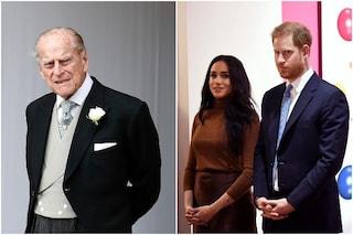 """Harry e Meghan ricordano il principe Filippo: """"Ci mancherai molto"""""""