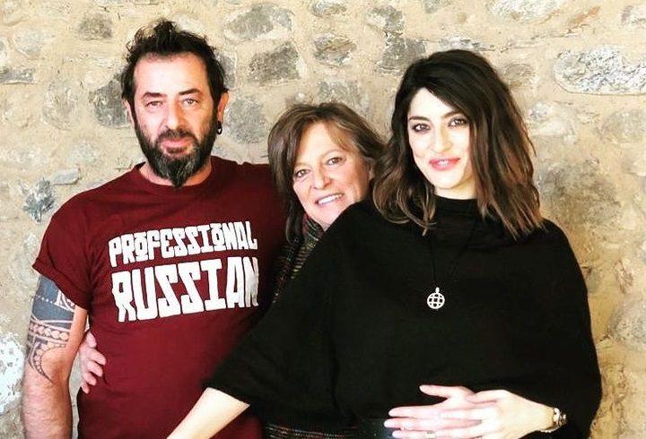 Con Domenico e la mamma Irma
