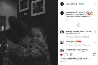 Suri Cruise compie 15 anni, Katie Holmes pubblica alcune rare foto mamma e figlia