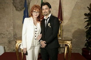 """Fiorella Mannoia: """"Io e Carlo Di Francesco sposi ai tempi del Covid per avere pochi invitati"""""""