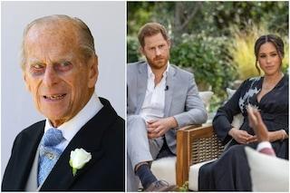 """Morto il principe Filippo, le accuse ad Harry e Meghan: """"L'intervista è stata un duro colpo per lui"""""""