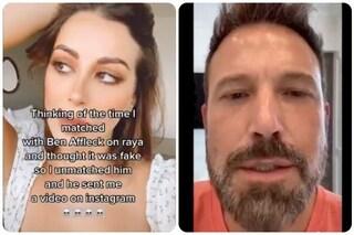 """Ben Affleck scartato su un app di incontri manda un video alla ragazza: """"Perché mi rifiuti sono io"""""""