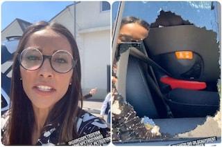 """Juliana Moreira derubata: """"Mi hanno rotto il vetro della macchina e rubato i documenti"""""""