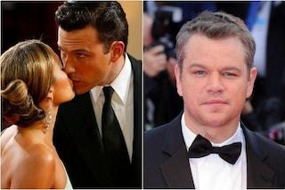 "Lettere d'amore tra Ben Affleck e Jennifer Lopez, Matt Damon: ""Sarebbe fantastico"""