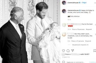 Gli auguri del principe Carlo per i 2 anni del piccolo Archie, la foto senza Meghan Markle