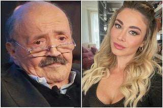 """Maurizio Costanzo: """"Se Diletta vuole smettere di fare la Leotta non dovrebbe avvisare i fotografi"""""""