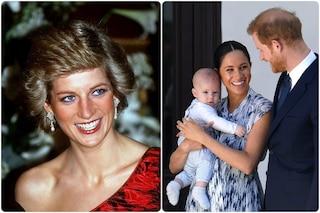 """Il principe Harry: """"Nonna Diana tra le prime parole pronunciate da Archie, vorrei fosse qui per lui"""""""