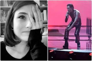 Giorgia Soleri sostiene Damiano David all'Eurovision, i commenti alla performance dei Maneskin
